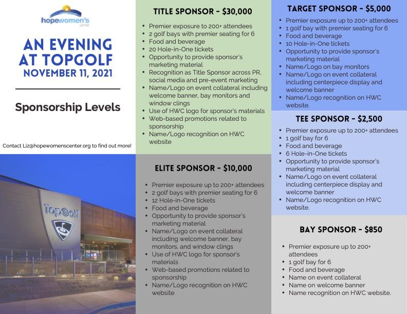 Topgolf Sponsorships